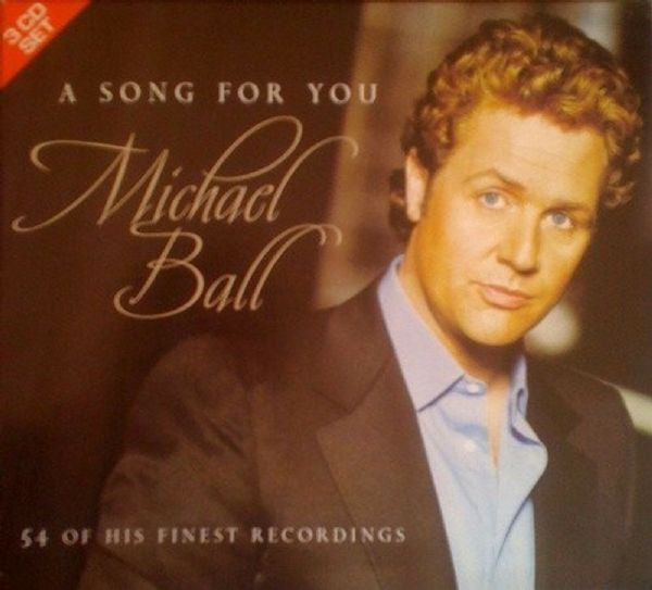MICHAEL BALL - A SONG FOR YOU (3 CD BOXSET 2003) USED